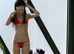 Non-Nude chinese bathing suit damsel..