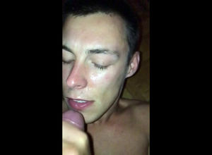 very first time facial cumshot