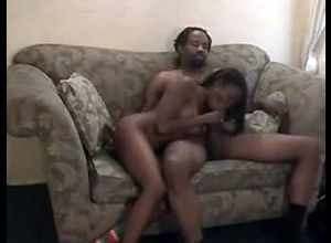 Ebony boy tears up a little girl..