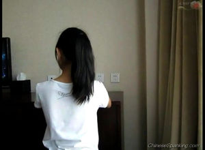Japanese young woman OTK nude bottom..